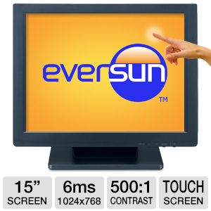 Eversun 15&quot; Class 1024x768 Touchscreen LCD Monitor