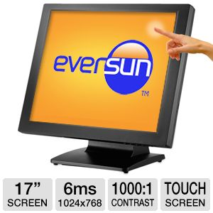 "Eversun 17"" Class 1024x768 Touchscreen LCD Monitor"