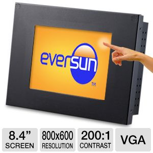 "Eversun 8.4"" 800x600 Touchscreen LCD Monitor"