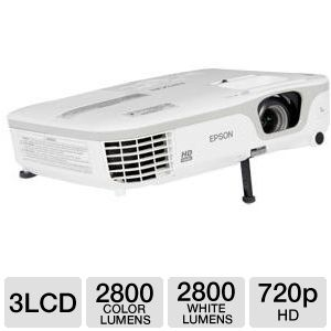 Epson PowerLite Home Cinema 710HD 3LCD Projector