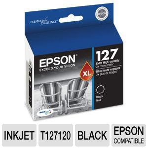 Epson 127 T127120 Black Ink Cartridge