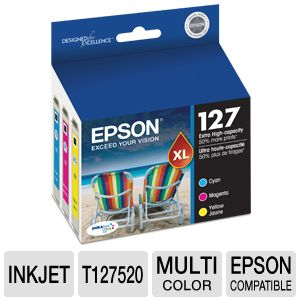 Epson 127 Ink Cartridge Multi-Pack