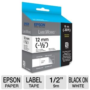 Epson LabelWorks Standard LC Tape Cartridge