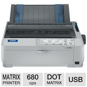 Epson FX 890 9PIN Dot Matrix Printer