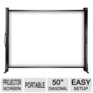 Epson Ultra Portable Tabletop Projection Screen -