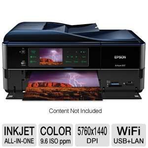 Epson Artisan 837 WiFi All-in-One Inkjet Printer
