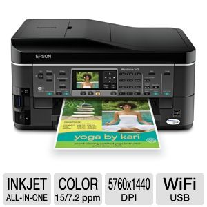 Epson WorkForce 545 WiFi All-In-One Printer