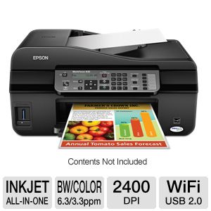 Epson WorkForce 435 WiFi All-in-One Printer