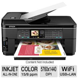 Epson WorkForce 7510 WiFi Wide-Format All-in-One 