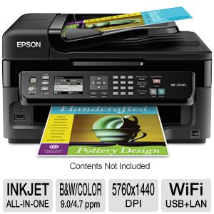 Epson WorkForce 2540 WiFi All-In-One Printer
