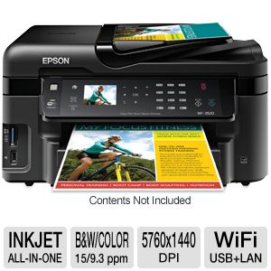 Epson WorkForce 3520 WiFi All-In-One w/ Duplex
