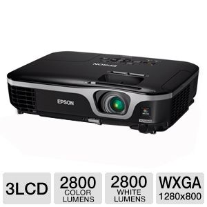 Epson EX7210 WXGA 3LCD Projector Refurbished