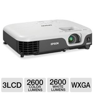 Epson VS315W WXGA Widescreen 3LCD Projector