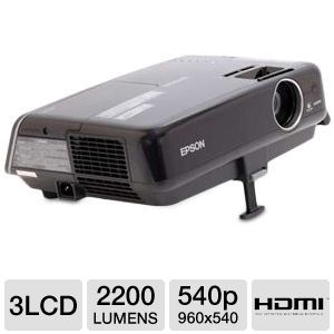 Epson Widescreen LCD Projector with Ipod Dock