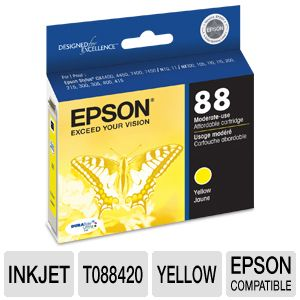 Epson 88 T088420 Yellow Inkjet Cartridge