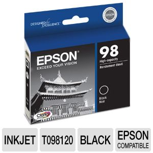 Epson High Capacity Black Ink Cartridge