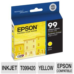 Epson 99 T099420 Claria Hi-Def Yellow Ink
