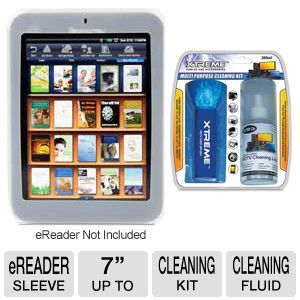 Pandigital eReader Gel Cover Case Bundle