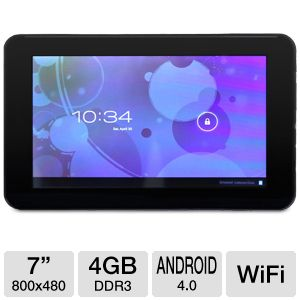 "Iview 7"" Android 4.0 4GB Storage Internet Tablet"