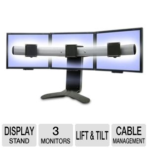 Ergotron LX Triple Display Lift Stand