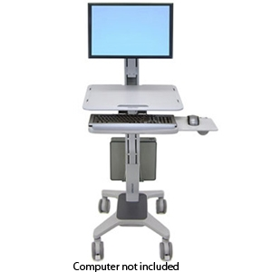 Ergotron 24-198-055 WorkFit C-Mod Workstation