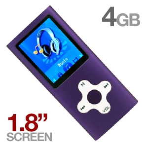 Mach Speed Eclipse 180 4GB MP4 Player