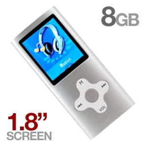 Mach Speed Eclipse 180 8GB MP4 Player