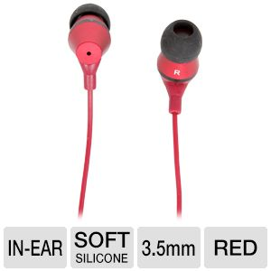 MachSpeed MyBuds Premium Metal Red Earbud