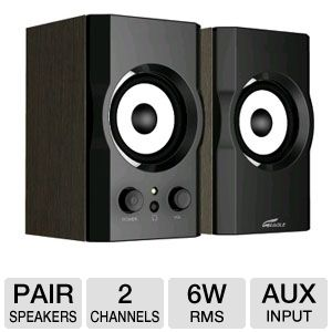 Eagle Tech ET-AR302-BK Soundstage Speakers