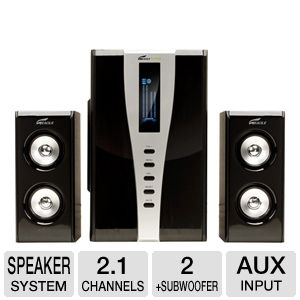 Eagle Tech ET-AR508LR-BK 2.1 Soundstage Speaker