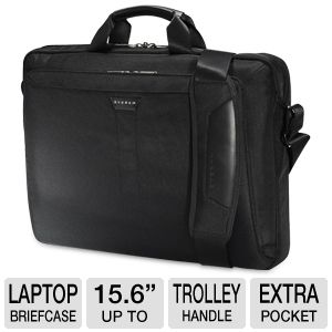"Everki Lunar 15.6"" Laptop Briefcase"