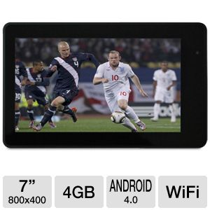 "Azend Envizen 7"" Android 4.0 4GB WiFi Tablet"