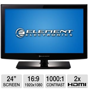 Element 24&quot; Class 1080p LED HDTV 
