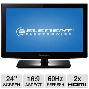"Element 24"" Class 1080p 60Hz LED HDTV"
