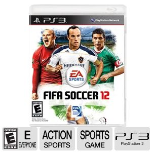 EA FIFA Soccer 12 Sports Video Game for PS3
