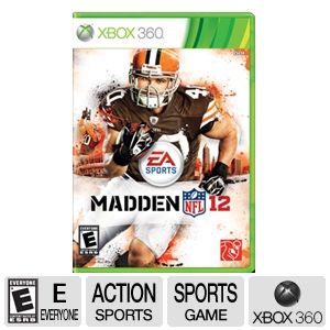 EA Sports Madden NFL 12 Football Video Game