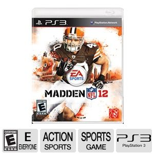 EA Sports Madden NFL 12 Football Video Game - PS3