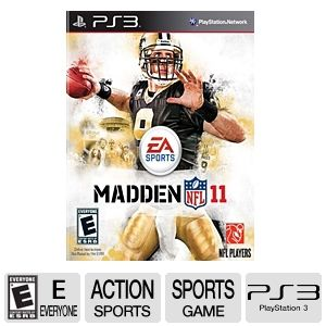 EA Sports Madden NFL 11 for PlayStation 3