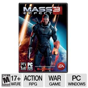 EA Mass Effect 3 Action RPG Video Game