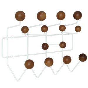 Gumball Coat Rack in Walnut