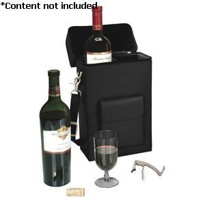 'Connoisseur' Wine Carrying Carrier - 620-BLACK-8