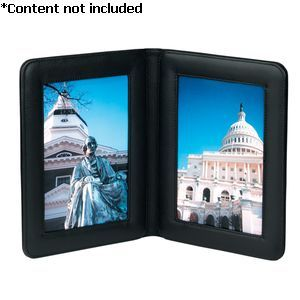 Double 5 X 7 Picture Frame - 864-BLACK-5