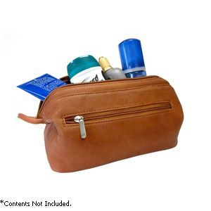Royce Leather Colombian Vaquetta Toiletry Bag