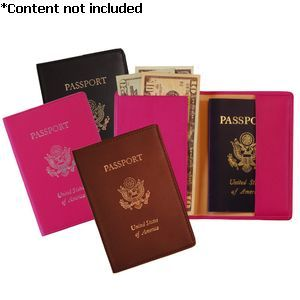 RFID Blocking Foil Stamped Passport Jacket - RFID-