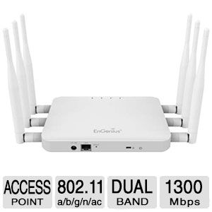Alternate view 1 for EnGenius AC1750 Dual Band Wireless Access Point