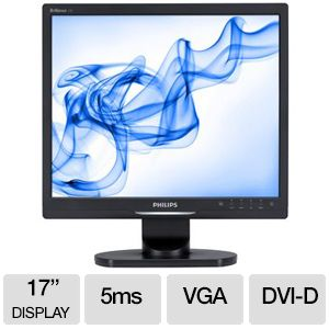 "Philips Brilliance 17"" LCD Monitor - 17S1SB"