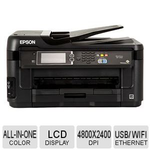 Epson WorkForce All-in-One Printer - C11CC98201