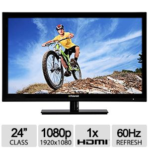 "Polaroid 24"" Class 1080p Slim Edge LED HDTV"