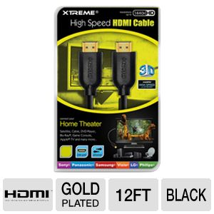XTREME 12ft High Speed HDMI Cable