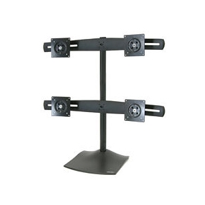 Ergotron DS100 Quad Monitor Desk Stand up to 24""